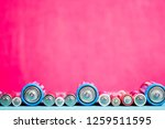 ecology recycling concept. many ...   Shutterstock . vector #1259511595