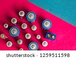 ecology recycling concept. many ...   Shutterstock . vector #1259511598