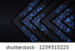 angular jumbled figure in the...   Shutterstock .eps vector #1259515225