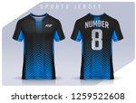 t shirt sport design template ... | Shutterstock .eps vector #1259522608