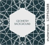 linear geometry background with ... | Shutterstock .eps vector #1259562688