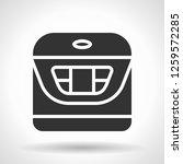 monochromatic multicooker icon... | Shutterstock . vector #1259572285