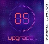 loading process screen.... | Shutterstock .eps vector #1259587645