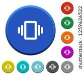 smartphone vibration round... | Shutterstock .eps vector #1259626522