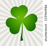 clover leaf element background... | Shutterstock .eps vector #125964986