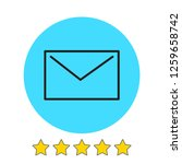 mail icon vector illustration....