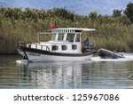 excursion boat | Shutterstock . vector #125967086