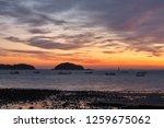 before sunrise of the waemock... | Shutterstock . vector #1259675062