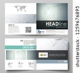 business templates for square... | Shutterstock .eps vector #1259676895