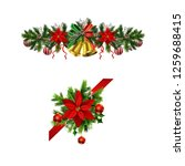 christmas elements for your... | Shutterstock .eps vector #1259688415