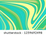 sea wave and pale yellow... | Shutterstock . vector #1259692498