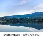 beautiful nature mountain  blue ... | Shutterstock . vector #1259726542