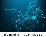 big data visualization. fractal ... | Shutterstock .eps vector #1259731168