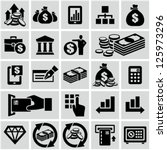 finance   banking icons set. | Shutterstock .eps vector #125973296