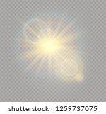 sunlight a translucent special... | Shutterstock .eps vector #1259737075