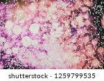 beauteous winter silver... | Shutterstock . vector #1259799535