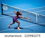 melbourne   january 23  serena... | Shutterstock . vector #125982275