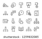 set of job search icons  such...   Shutterstock .eps vector #1259832085
