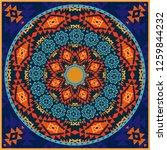ornamental circular pattern in... | Shutterstock .eps vector #1259844232