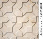 retro tile design. ancient... | Shutterstock . vector #1259859028