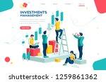 alternative progress  building...   Shutterstock .eps vector #1259861362