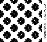 Compass Icon Seamless Pattern ...