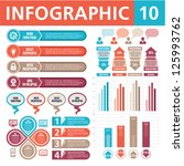 infographic elements 10 | Shutterstock .eps vector #125993762
