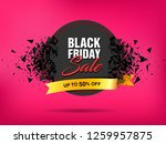 black friday sale abstract... | Shutterstock .eps vector #1259957875