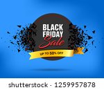 black friday sale abstract... | Shutterstock .eps vector #1259957878