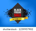 black friday sale abstract... | Shutterstock .eps vector #1259957902