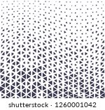triangle halftone seamless... | Shutterstock .eps vector #1260001042