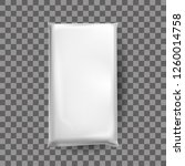 realistic mock up of white... | Shutterstock .eps vector #1260014758
