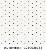 small black triangles pattern | Shutterstock .eps vector #1260038365