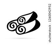 towel beauty vector icon   Shutterstock .eps vector #1260042952