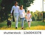 concept of raising children   a ... | Shutterstock . vector #1260043378