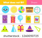 educational children game.... | Shutterstock .eps vector #1260050725