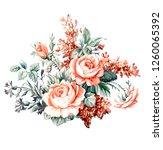 Watercolor Decorative Pattern...