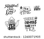 creative poster with hand drawn ... | Shutterstock .eps vector #1260071905