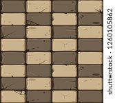 texture of brown stone tiles ...