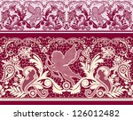 all elements and textures are... | Shutterstock .eps vector #126012482
