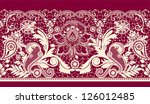 all elements and textures are... | Shutterstock .eps vector #126012485