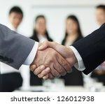 business handshake | Shutterstock . vector #126012938