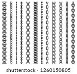 chain seamless decoration and... | Shutterstock .eps vector #1260150805
