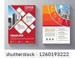 business abstract vector... | Shutterstock .eps vector #1260193222