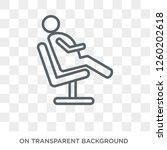 comfortable human icon. trendy... | Shutterstock .eps vector #1260202618