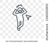 scared human icon. trendy flat...   Shutterstock .eps vector #1260202852