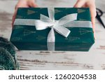 hands of cropped unrecognisable ...   Shutterstock . vector #1260204538
