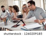 professional education  work... | Shutterstock . vector #1260209185