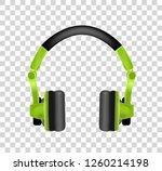 trendy youth wireless green... | Shutterstock .eps vector #1260214198