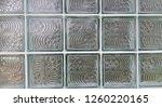 glass brick wall | Shutterstock . vector #1260220165